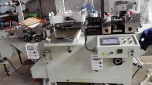 Die Cutting Machine Flat-Bad Mq-320/450 Label pictures & photos