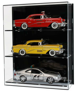 Low Price Hot Sale Acrylic Model Cars Display Case pictures & photos