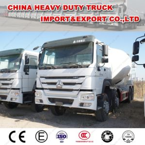 HOWO 8X4 12-16cmb Cement Mixer Tanker Truck pictures & photos
