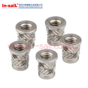 Flanged Threaded Inserts for Plastic Material pictures & photos