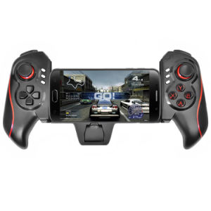 Most Size Tablet Compatible Bluetooth Game Controller with Clip Joystick for iPad pictures & photos