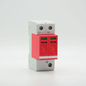 DIN Rail 1p, 2p, 3p, 4p AC 220V Power Surge Protector pictures & photos