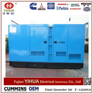 Dcec OEM Cummins Engine 200kVA/160kw Electric Silent Diesel Power Generator with ATS pictures & photos