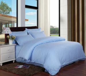 300tc 100% Stripe Cotton 4PCS Bedding Set for Hotel/Famail pictures & photos