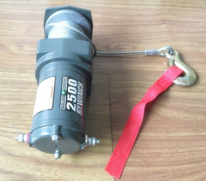 Portable Electric ATV Winch 12V DC 2500lb (1136KG) pictures & photos
