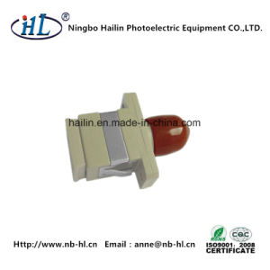 Sc-FC/mm Plastic Fiber Optic Adapter for Optical Fiber Plate pictures & photos