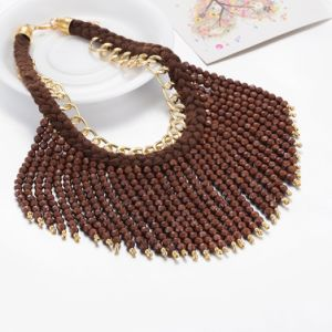 Fashion Nice Quality Handmade Bead Pendant Necklace Jewelry pictures & photos