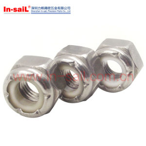 DIN1667 Prevailing Torque All-Metal Hex Flange Lock Nuts pictures & photos