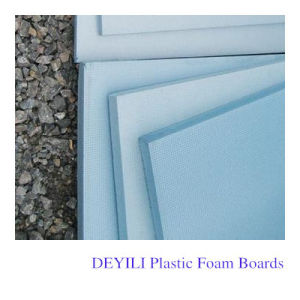 XPS Plastic Foaming Extruded Sheet/Board with Factory Price pictures & photos