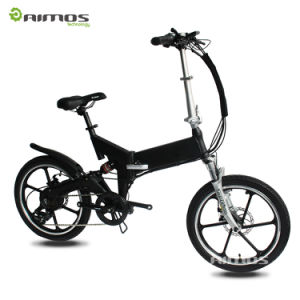 Mini Pocket Electric Bike Folded Ebike for Sale pictures & photos