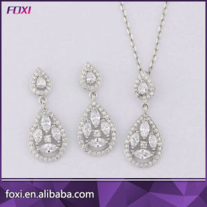 Champagne CZ Stone Fashion Hot Sale Jewelry Sets for Women Party pictures & photos