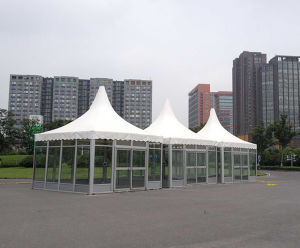 3X3m Steel Frame Gazebo Tent with SGS Certificate pictures & photos