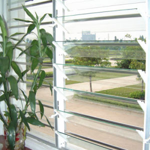 Remote Control Aluminum Shutters Window pictures & photos