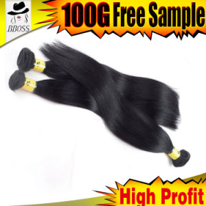 Machined Made Brazilian Human Remy Bulk Hair pictures & photos