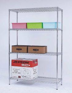 Floor Standing 4 Tiers Heavy Duty 550lbs Sample Display Metal Racks Shelf Unit for Showroom pictures & photos