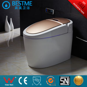 Hot Selling Bathroom Sensor Flushing Automatic Toilet (BC-819) pictures & photos
