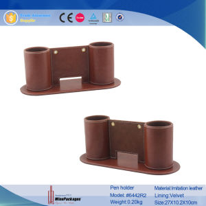 Stand Double Holders Pencil Box (6442R1) pictures & photos