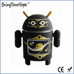 Androd Robot Shape MP3 Mini Speaker with TF Slot (XH-PS-001) pictures & photos