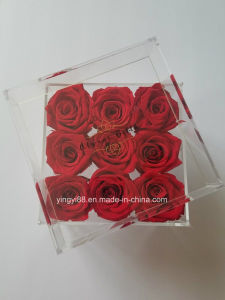 Modern Luxury Acrylic Rose Box with Drawer pictures & photos