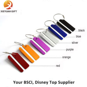 Metal Tag Supplier Colorful Custom Metal Luggage Tag pictures & photos
