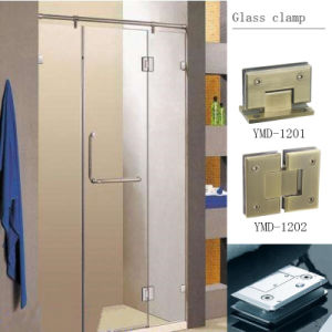 Fashion Design Frameless Shower Accessories Casting Stainless Steel Glass Door Glass Clamp pictures & photos