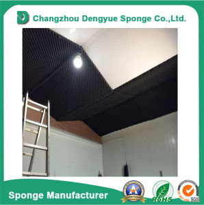 Air Conditioning Self-Adhesive Fire Retardant Soundproof Acoustic Foam pictures & photos