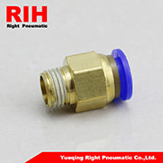 Male Threadpneumatic Fitting for Fast Connector (PC4-02)