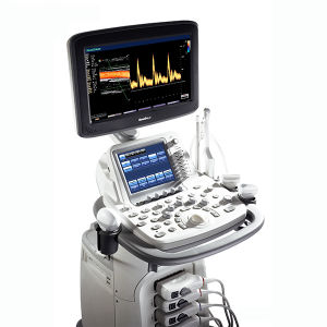 "Hospital Medical 3D 4D 18.5"" LCD Trolley Color Doppler Equipment Sonoscape S20 pictures & photos"