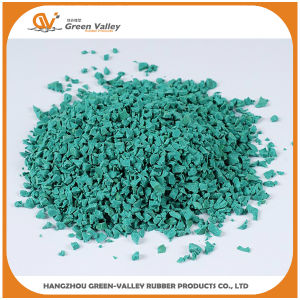 ISO9001 Rose EPDM Granule/Rubber Granule pictures & photos
