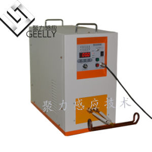 Induction Heating Machine for Heating Small Parts Heat Treatment of Gear and Shaft pictures & photos
