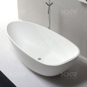 Sanitary Ware Freestanding Bath Stone Resin Bathroom Bathtub (170824) pictures & photos