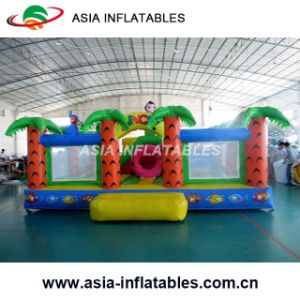Inflatable Clown Bouncy Castle / Inflatable Bouncer with Slide Combo pictures & photos
