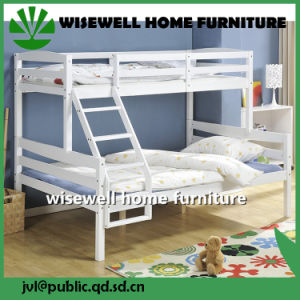 Solid Pine Wood Twin Bed Bedroom Furniture Set (WJZ-B69) pictures & photos