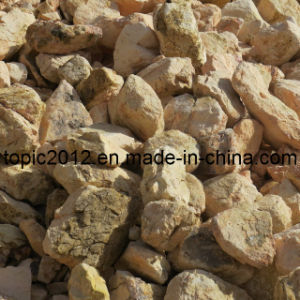 Calcined Bauxite 87%Min Round Kiln