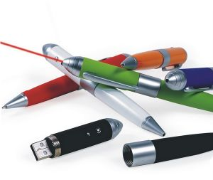Laser USB Pen with Writing OEM Custom Logo pictures & photos