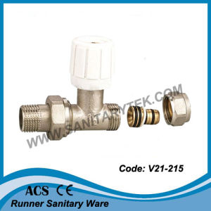 Straight Radiator Valve for Multilayer Pipe (V21-215) pictures & photos