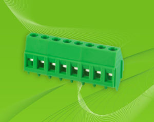 PCB Screw Terminal Block with 45deg Wire Direction pictures & photos