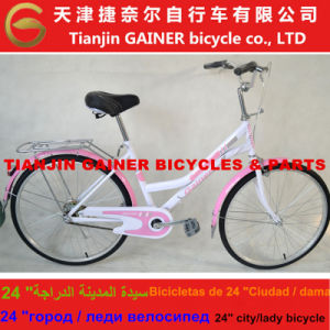 "Tianjin Gainer 24"" Lady Bicycle Stable Quality & Fashioanble Design pictures & photos"