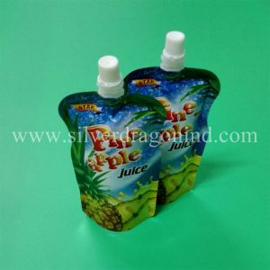 Customized Stand-up Pouch Bag with Spout for Milk Packing pictures & photos