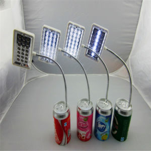 2015 New Product a Battery-Powered Folding Desk Lamp Battery Charging Power Supply