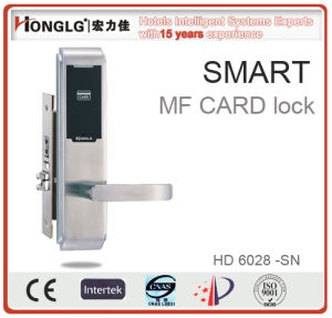 Quality Warranty Us Standard Mortise Electronic Hotel Lock (HD6028) pictures & photos