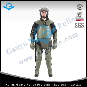 Green Double Knee Protector Military Stab Resistant Anti Riot Suit pictures & photos