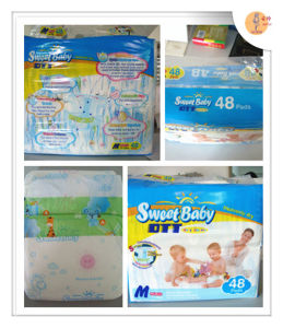 Babies Age Group and Soft Breathable Absorption Cheap Grade B Baby Diaper pictures & photos