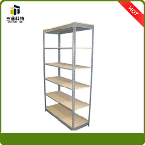 6 Layer Steel Storage Rack, Boltless Rivet Slotted Angle Shelves pictures & photos
