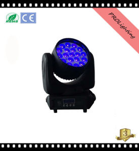 Prolight 19PCS 12W LED Wash Moving Head with Zoom pictures & photos