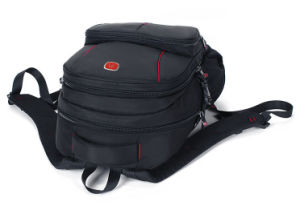 Series Black Modern and Double Strap School Backpack Bag pictures & photos