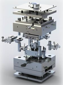 High Precision Plastic Injection Mould for Commodity Parts pictures & photos