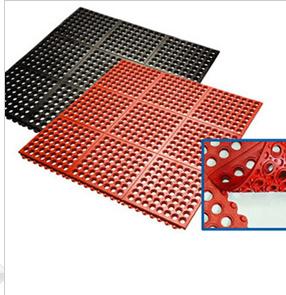 Best Quality Drainage Interlocking Rubber Floor Mat/Matting pictures & photos