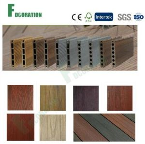 Co-Extrusion Wood Plastic Composite Outdoor WPC Decking pictures & photos