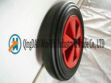 15 Inch High Quality Non-Pneumatic Rubber Wheels pictures & photos